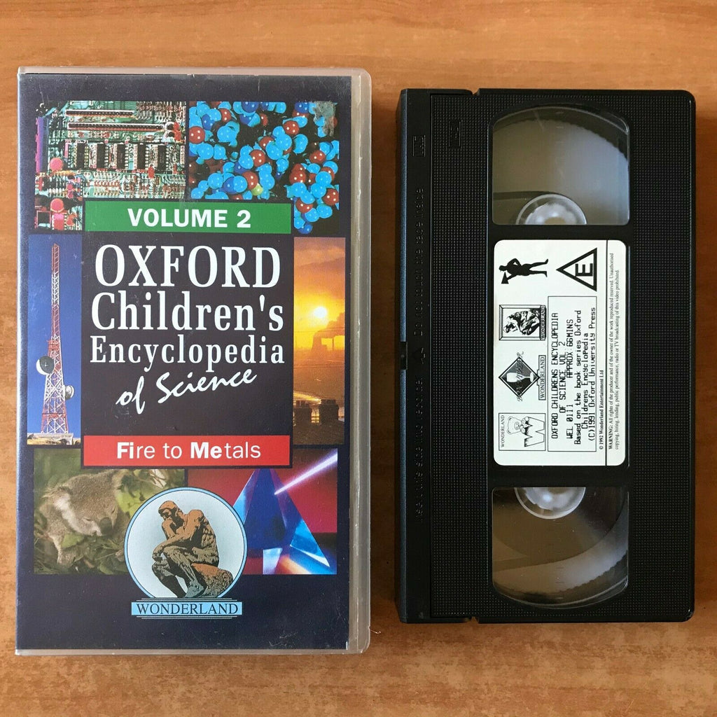 Oxford Children's Encyclopedia Of Science (Vol. 2): Fire To Metals - Kids - VHS