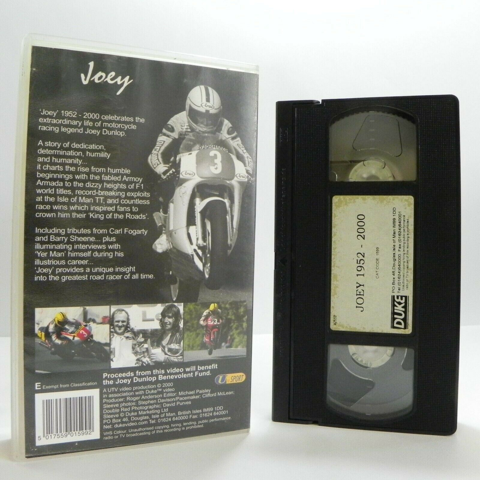 Documentary, F1, Joey, Legend, No, Pal, Racing, VHS