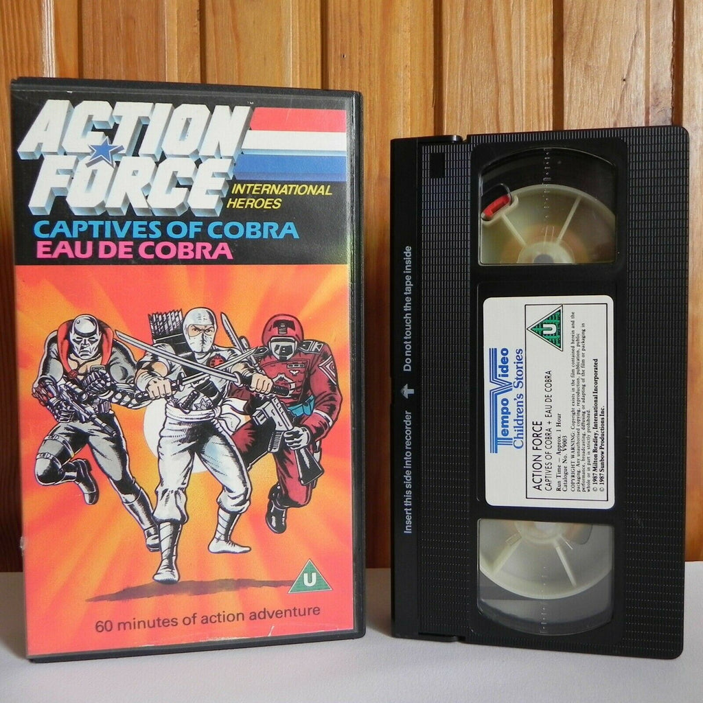 Action Force: Captives Of Cobra - Action Adventure - Animated - Children's - VHS