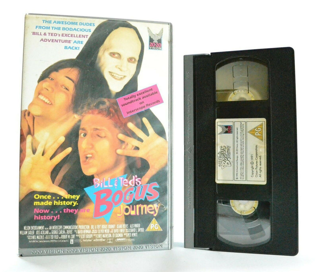 Bill And Ted's Bogus Journey: 20/20 Vision (1990) - Comedy - Large Box - Pal VHS