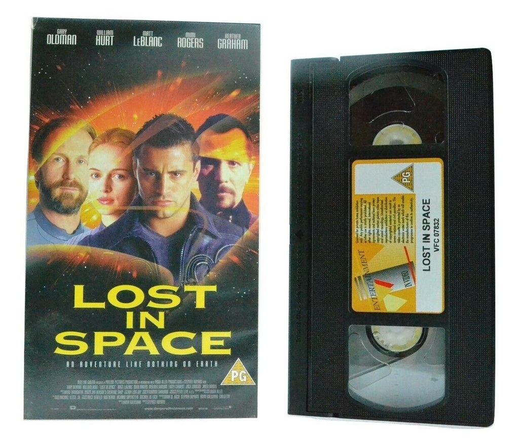 Lost In Space (1998) - Sci-Fi Adventure - Gary Oldman/William Hurt - Pal VHS