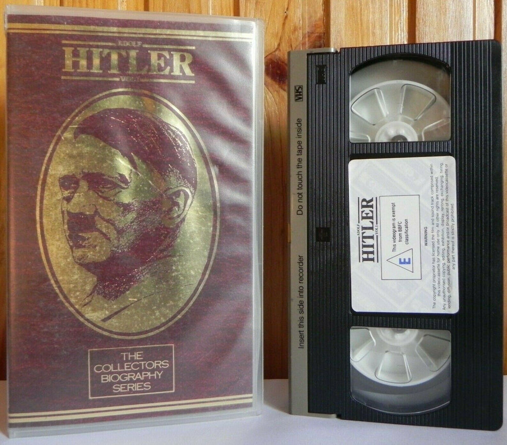 Adolf Hitler: Vol.1 - The Collectors Biography Series - Documentary - Pal VHS