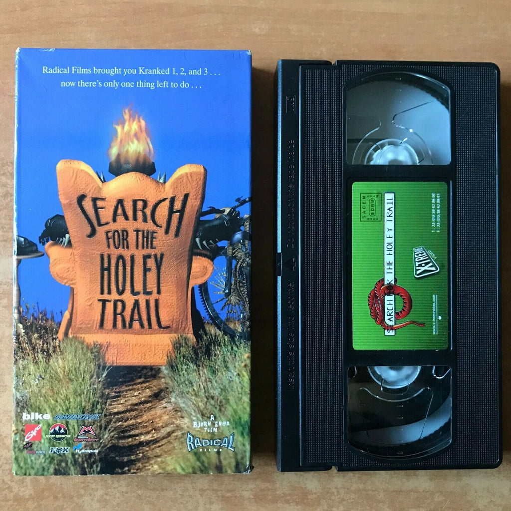 Search For The Holey Trail; [Carton Box] Mountain Biking - Dangerous Dan - VHS