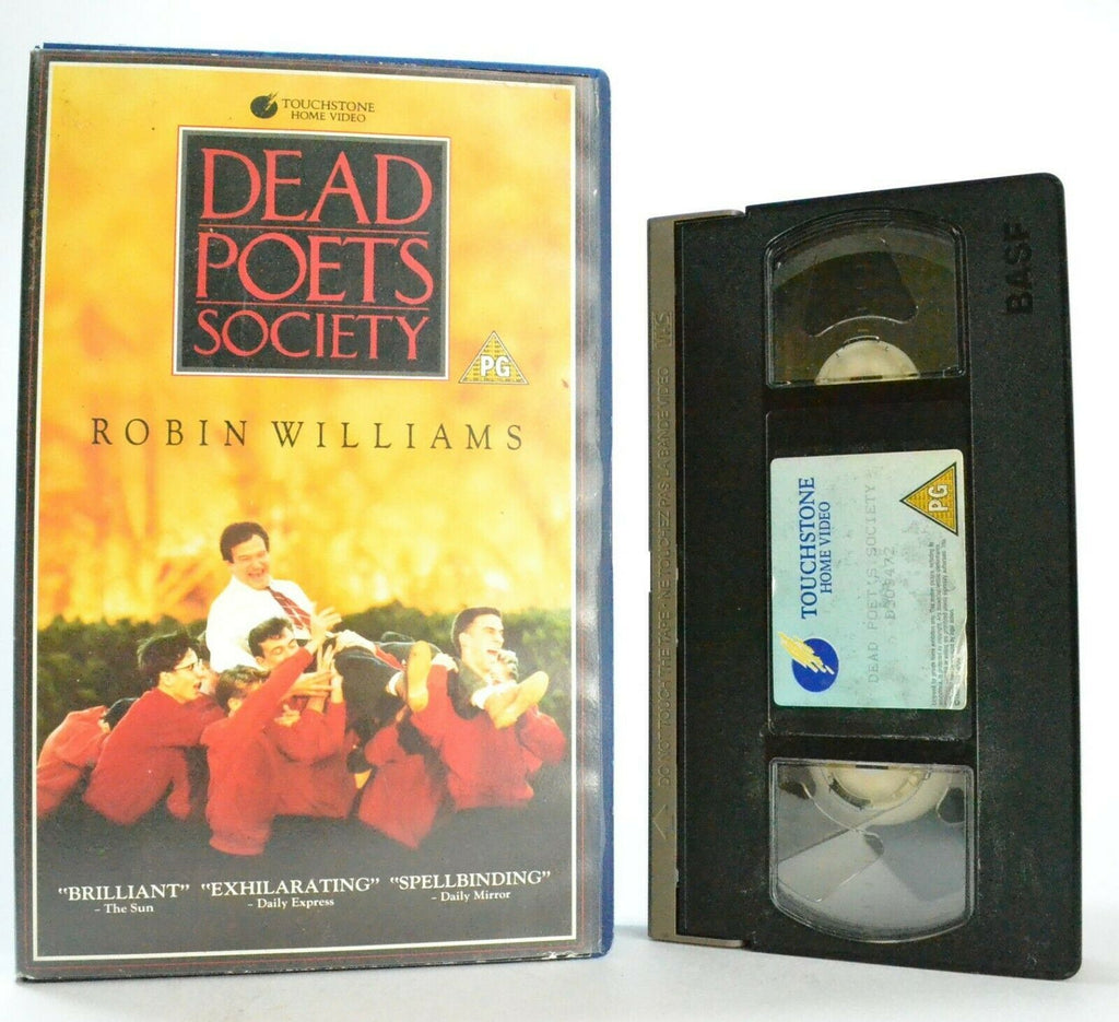 Dead Poets Society: A Peter Weir Film - Drama - Large Box - Robin Williams - VHS