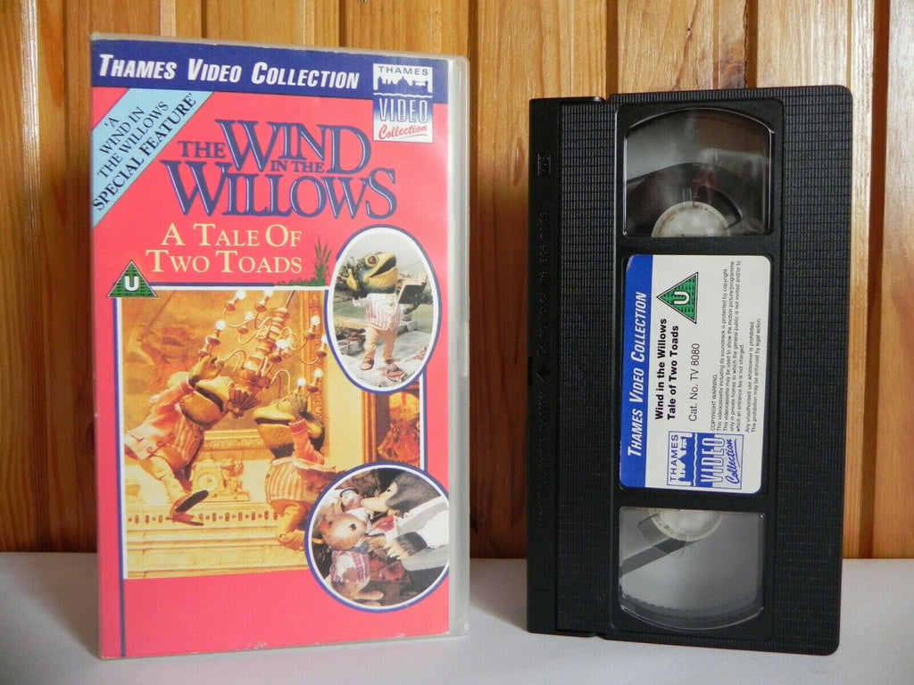 The Wind In The Willows: A Tale Of Two Toads - Thames Video - Animated - Pal VHS