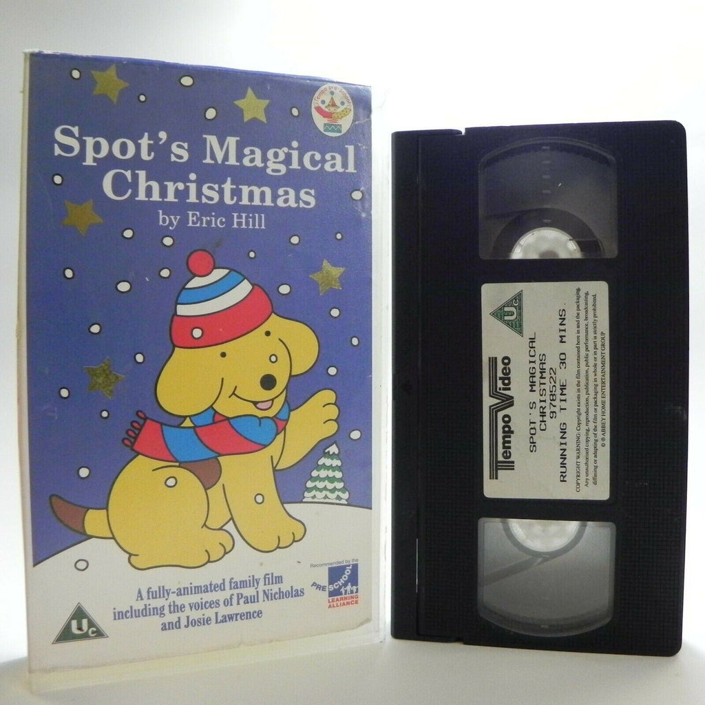 Spot's Magical Christmas: By E.Hill - Classic Animation - Children's - Pal VHS