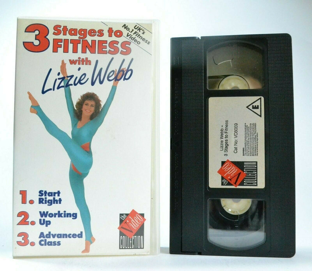 Body, By, Exercise, Exercise & Fitness, Lizzie, No, PAL, Programme, Stages, To, VHS, Webb, Workout