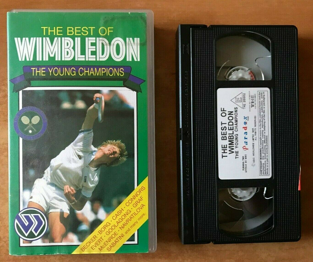 The Best Of Wimbledon: The Young Champions: Boris Becker - Chris Evert - Pal VHS