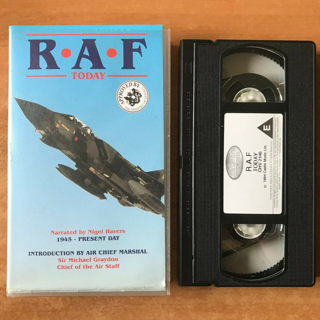 RAF: Today; [Sir Michael Graydon] 75 Years Royal Air Force - Nigel Havers - VHS