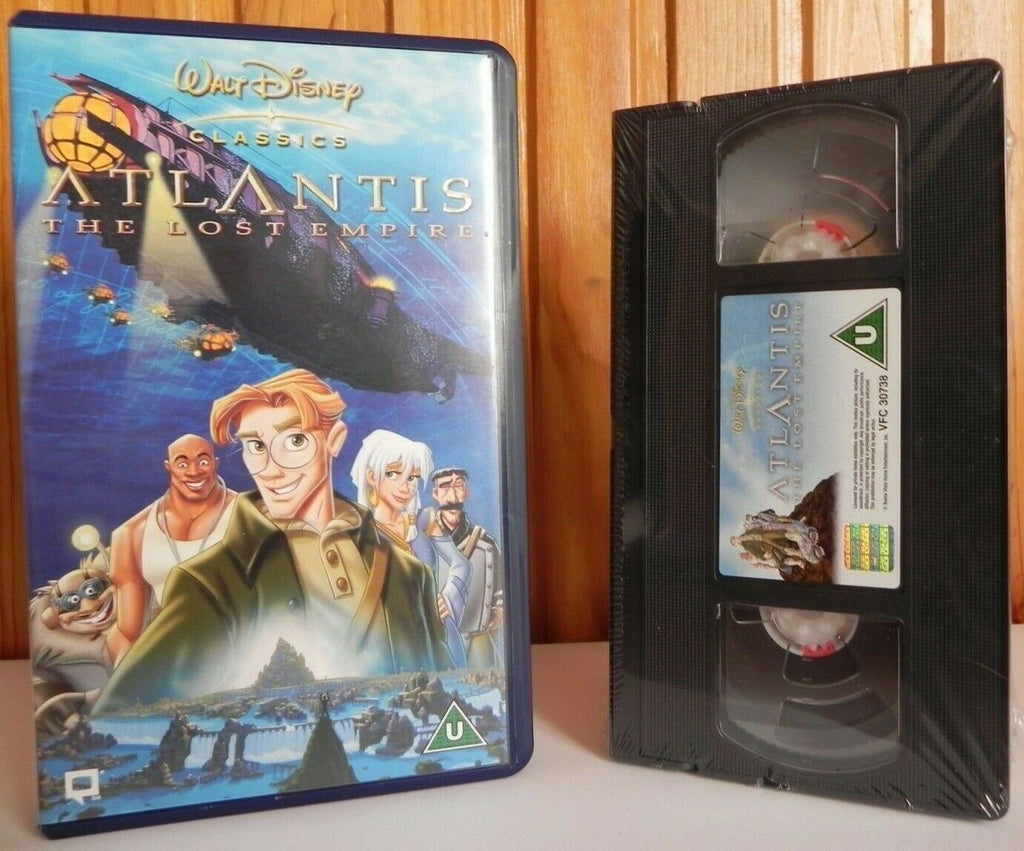 Atlantis: Lost Empire - Walt Disney Classics- Brand New Sealed - Kids - Pal VHS
