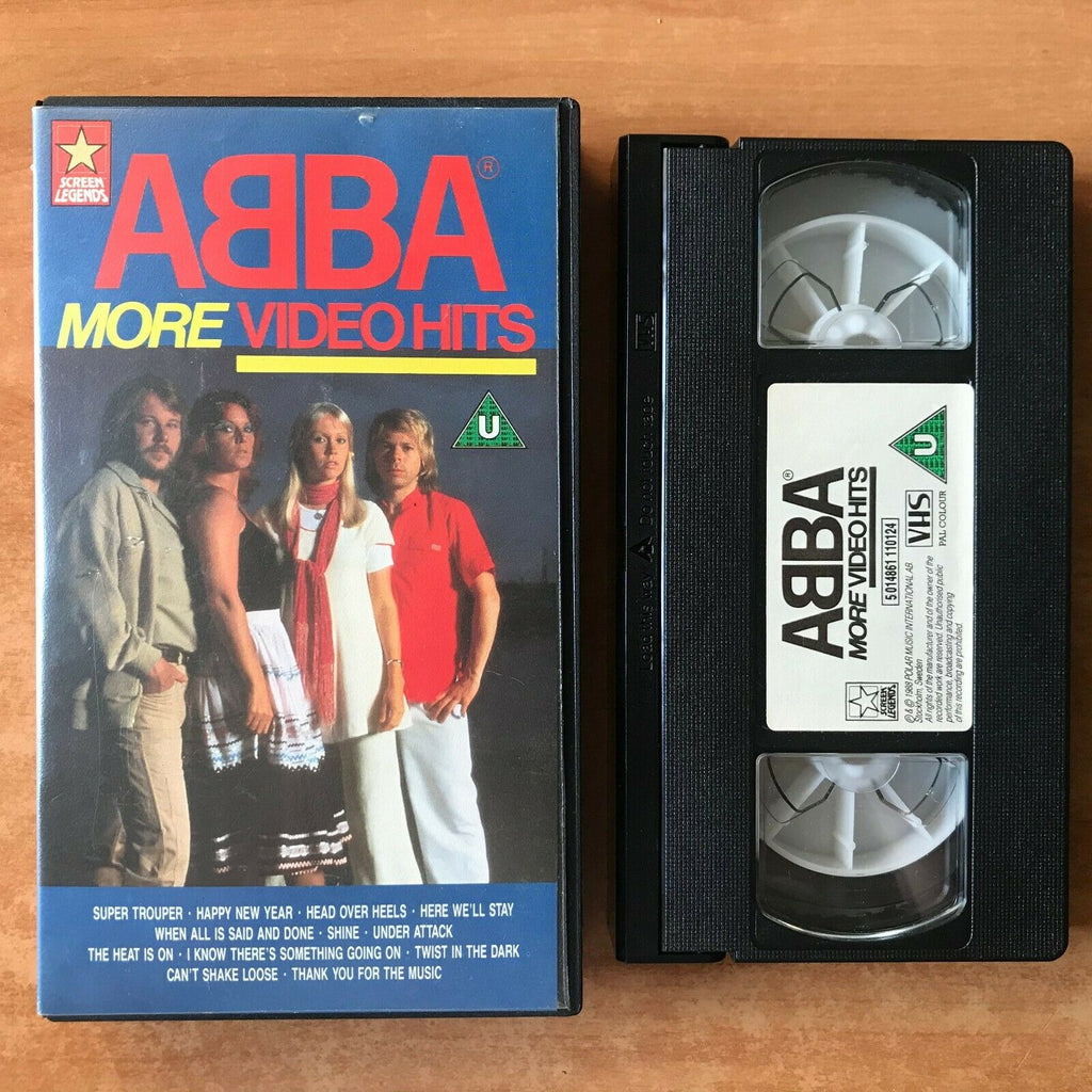 "Abba: More Video Hits: ""Super Trouper"" / ""Shine"" - Benny Andersson - Music - VHS"