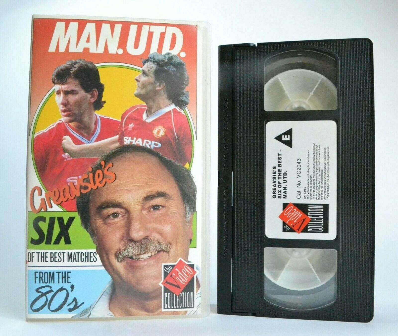 Manchester United: 6 Of The Best Matches From The 80's - Football - Sports - VHS