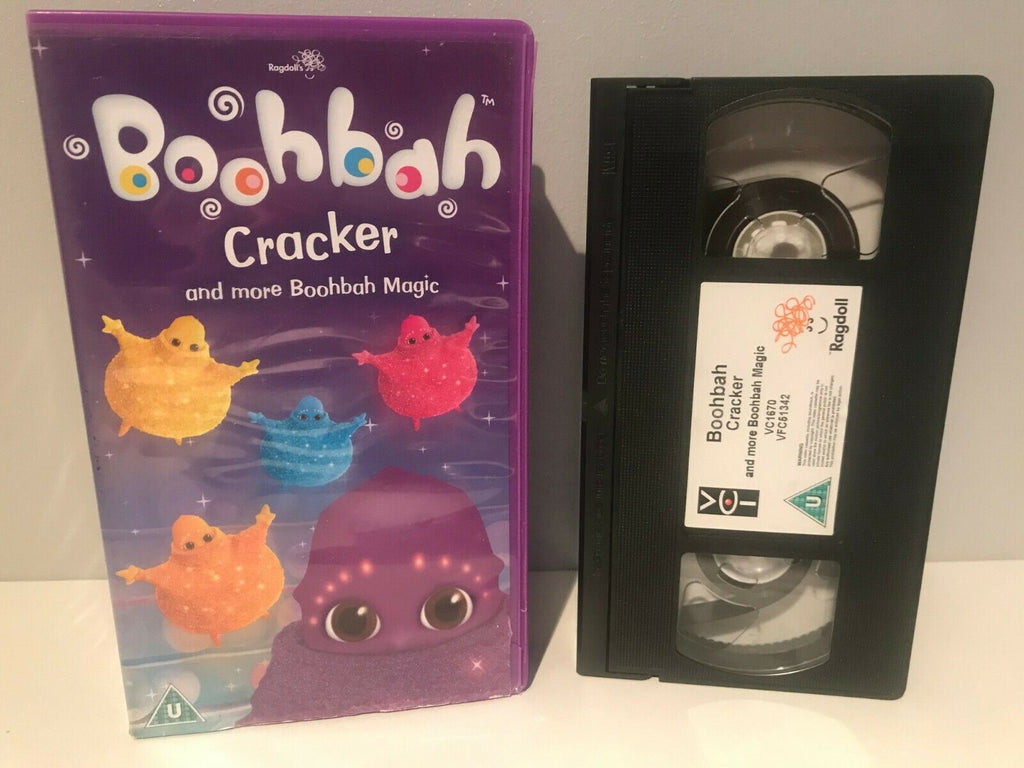 Boohbah: Cracker-Piggy Bank-Bells - 60 min Ragdoll Production - Kid's Educ VHS
