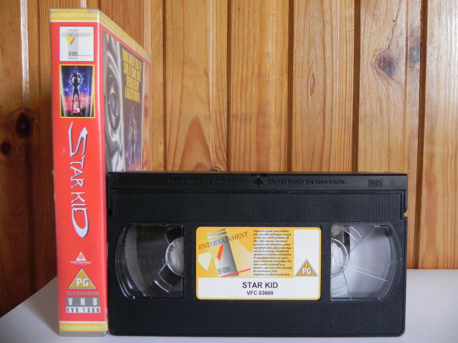 Star Kid - Entertainment In Video - Family - Sci-Fi - Joseph Mazzello - Pal VHS
