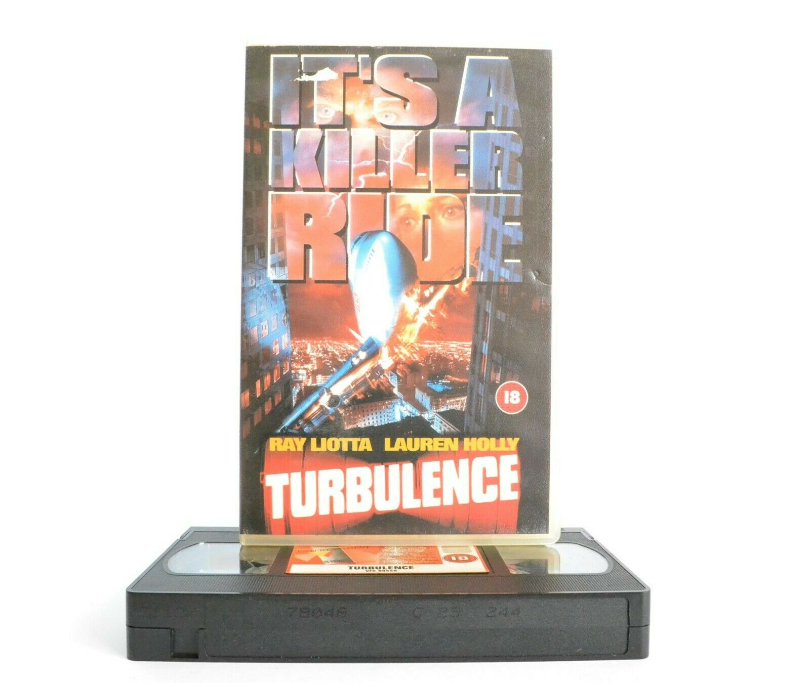 Turbulence: Distaster Crime Thriller - Large Box - Ray Liotta/Lauren Holly - VHS