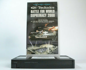 Battle, DJ, DMC, DMC Championships, For, Music, Music & Concerts, No, Pal, Supremacy, VHS, World