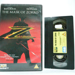 The Mask Of Zorro: Swashbuckler Film (1998) - Large Box - Antonio Banderas - VHS