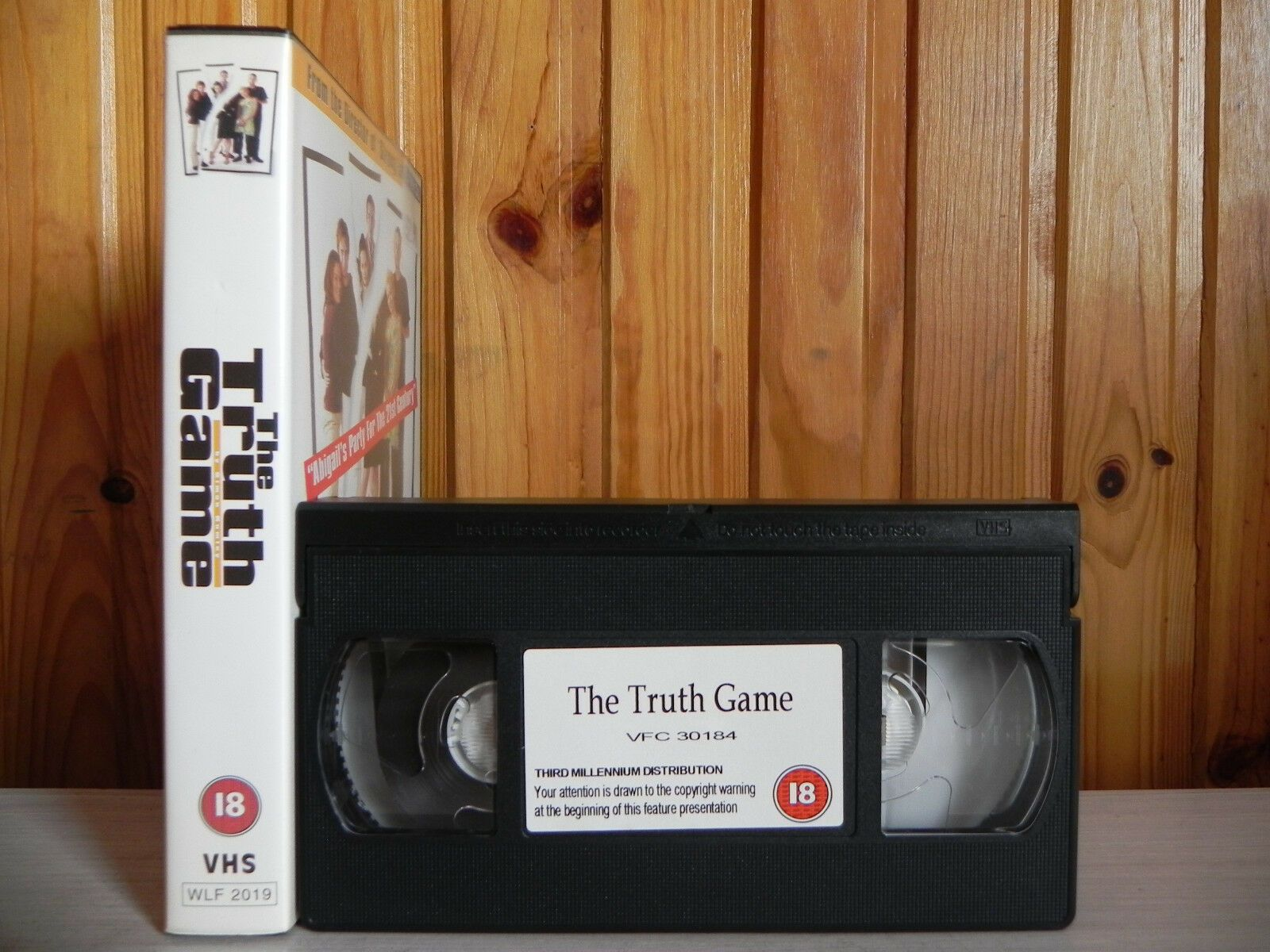 The Truth Game - Cert (18) - British Film Making At It's Best - Pal VHS