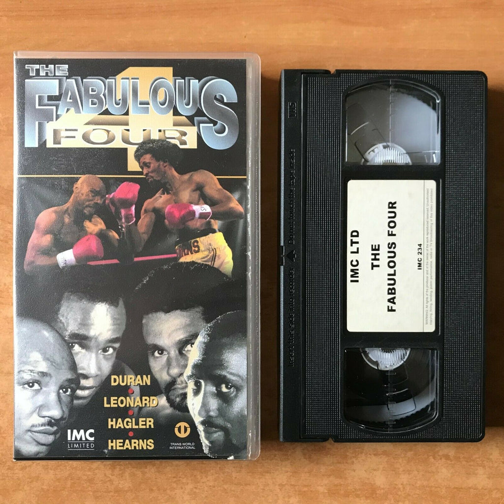 The Fabulous 4: Duran - Leonard - Hagler - Hearns - Boxing - Sports - Pal VHS