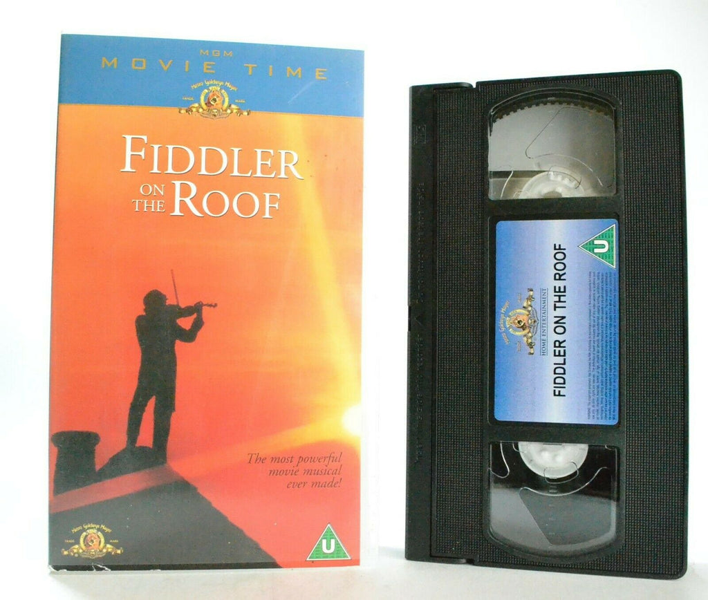 Fiddler On The Roof: Musical Comedy Drama (1971) - Topol/Norma Crane - Pal VHS
