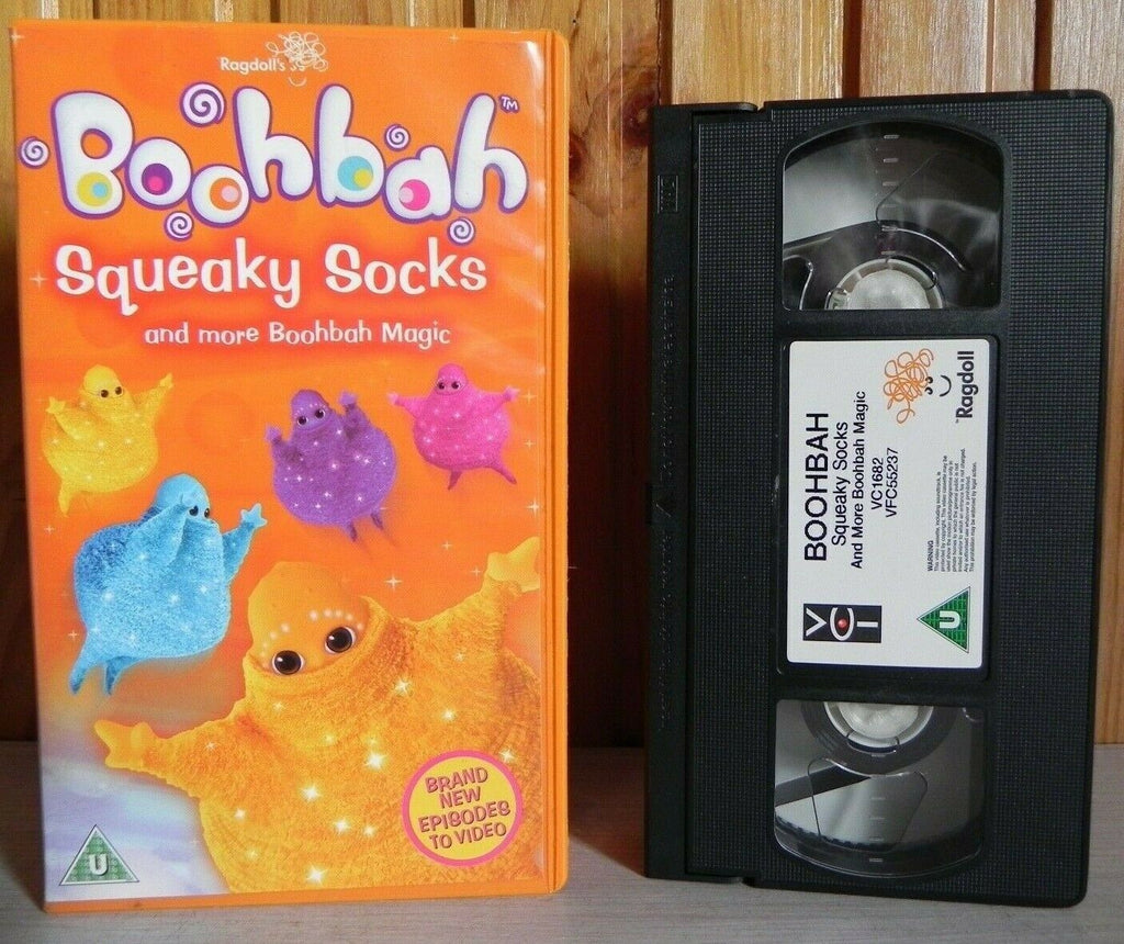 Boobah: Squeaky Socks - 3 Episodes - Animated - Educational - Children's - VHS