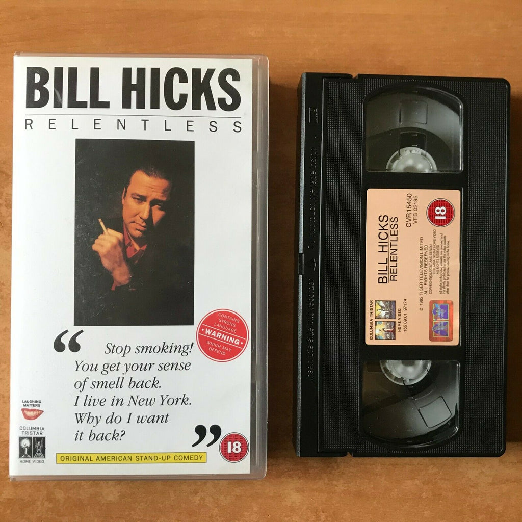 Bill Hicks: Relentless (1991) [Montreal / Canada] Stand Up Comedy - Pal VHS
