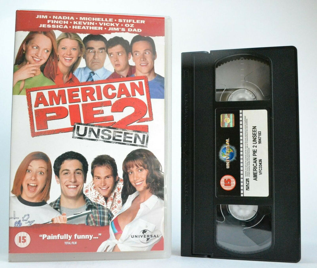 American Pie 2 (2001): Unseen Version - Sex Comedy - Large Box - J.Biggs - VHS