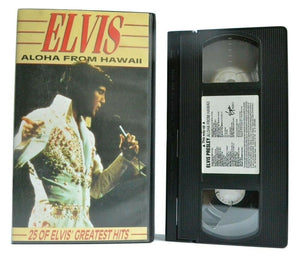 Aloha, Elvis, From, Greatest, Hawaii, Hits, Live, Music & Concerts, No, PAL, Performance, VHS