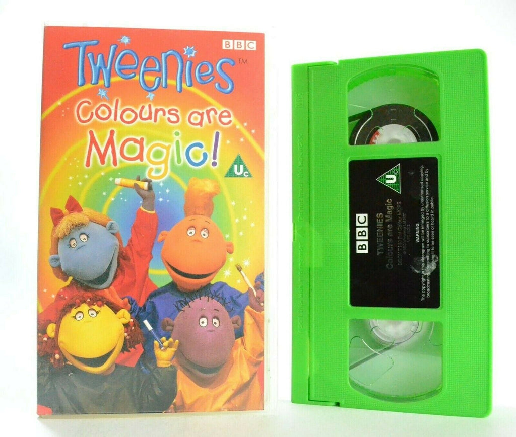 Tweenies: Colours Are Magic! - Singalong Songs - Educational - Children's - VHS