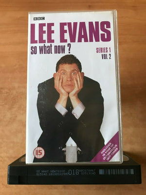 Lee Evans: So What Now? (Series 1, Vol.2): Act Of God [BBC] Comedy - Pal VHS