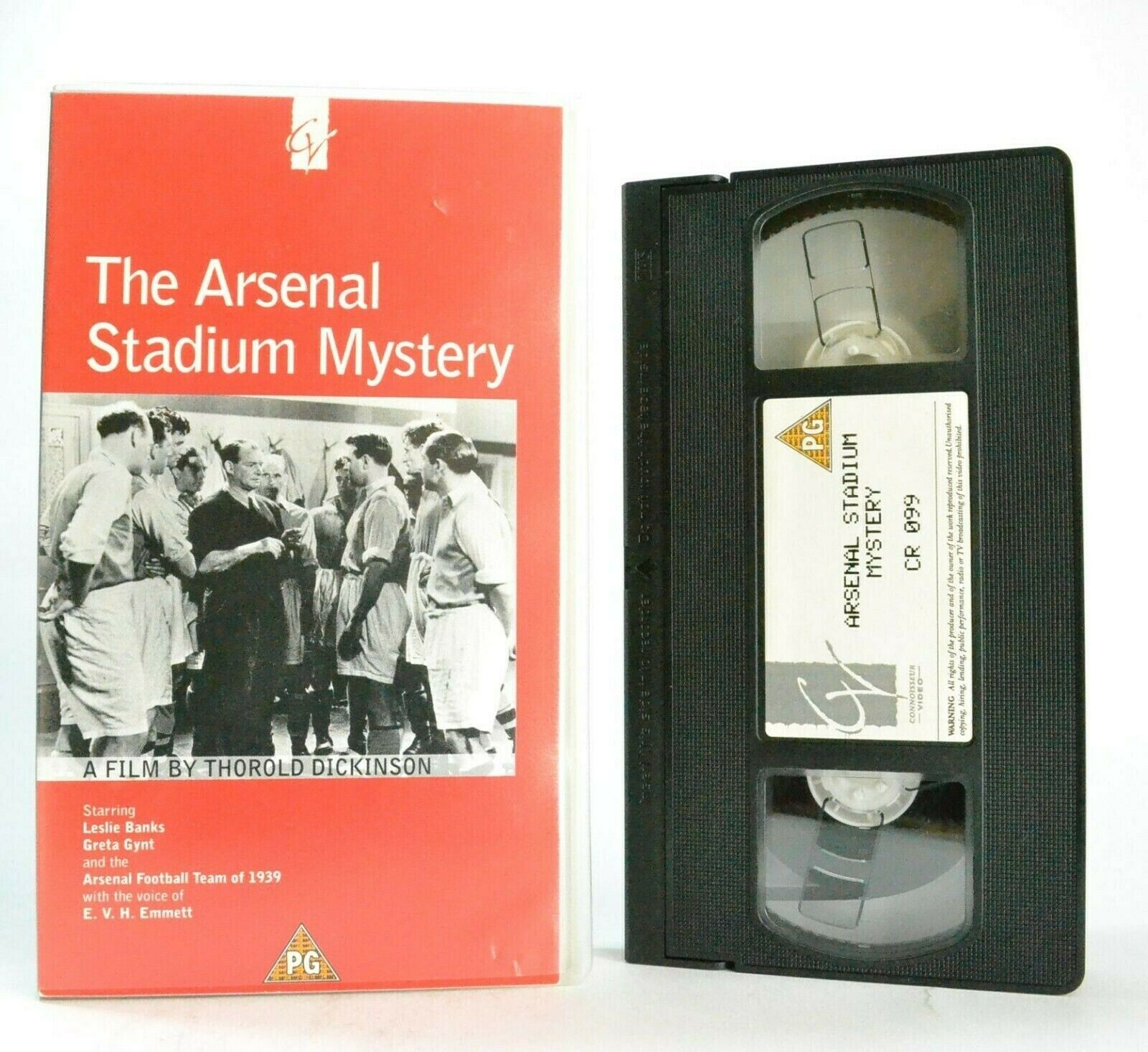 The Arsenal Stadium Mystery: A Thorold Dickinson Film - Football - Sports - VHS