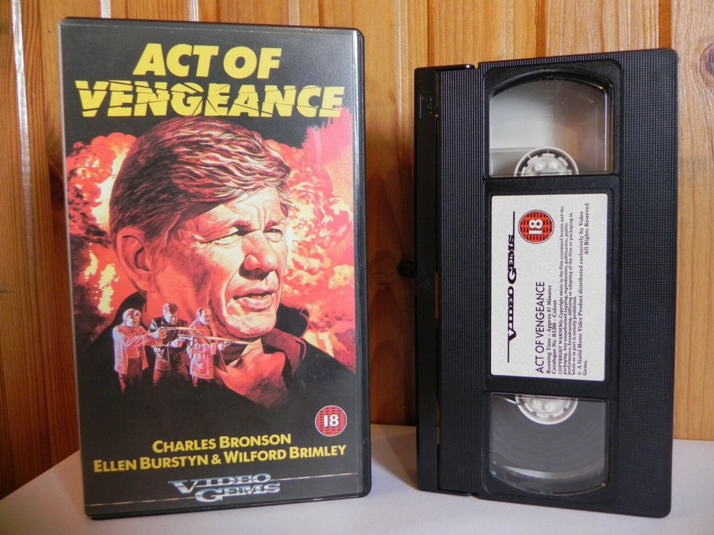 Act, Action, Action & Adventure, Bronson, Burstyn, Charles, Charles Bronson, Ellen, Gems, Of, PAL, Vengeance, VHS, Video