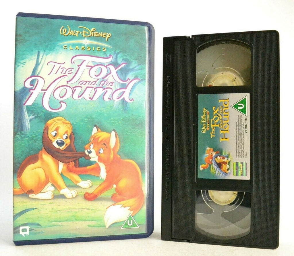 The Fox And The Hound: Disney Classics (1981) - Animated - Children's - Pal VHS