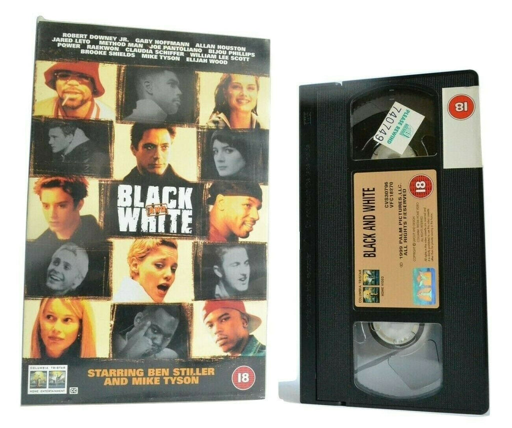 Black And White: M.Tyson/B.Stiller - Drama (1999) - Hip-Hop - Method Man - VHS