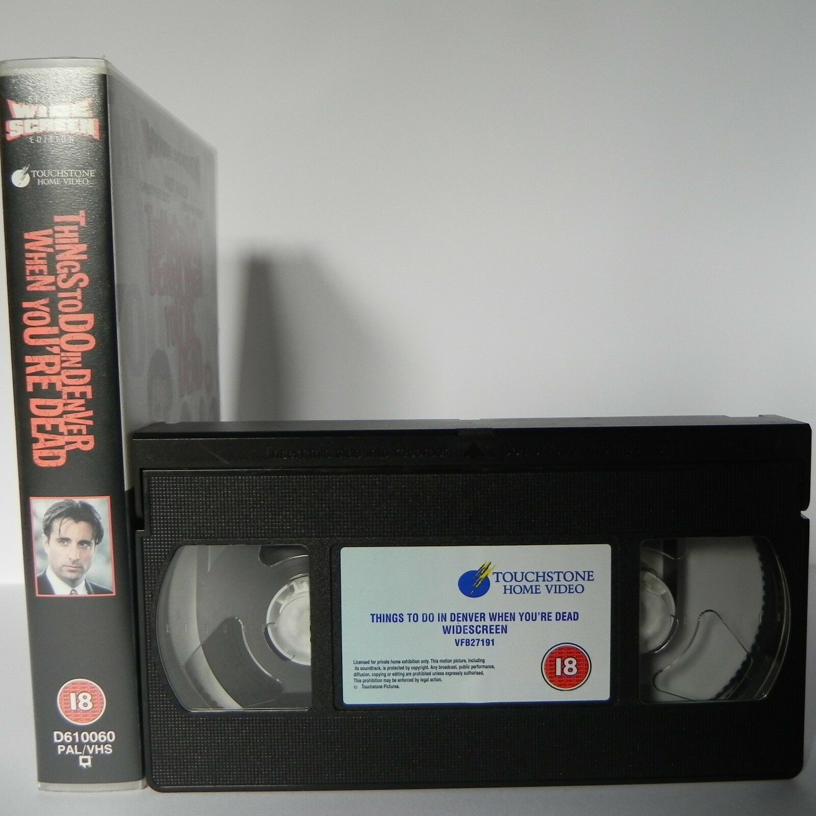 "Things To Do In Denver When You're Dead: Widescreen ""Pulp Fiction Clone"" - VHS"