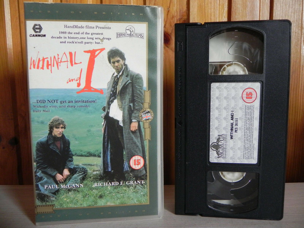 Withnail And I - Cannon - Paul McGann - Richard E. Grant - Comedy - Pal VHS