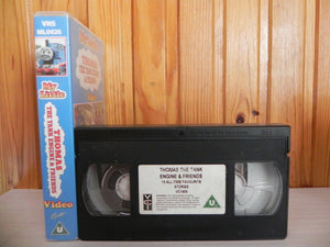 Thomas The Tank - & The Trucks - Kids Video Little - Childrens Family - Pal Vhs
