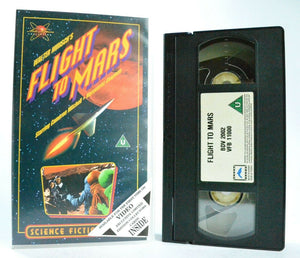 Flight To Mars: Cinecolor Sci-Fi Drama (1961) - Scientific Expedition - Pal VHS