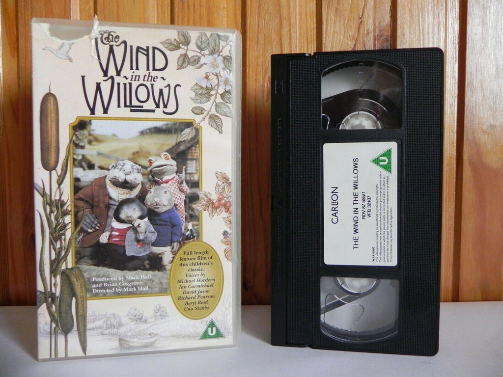 The Wind In The Willows - Thames Video - Children's Classic - Animated - Pal VHS