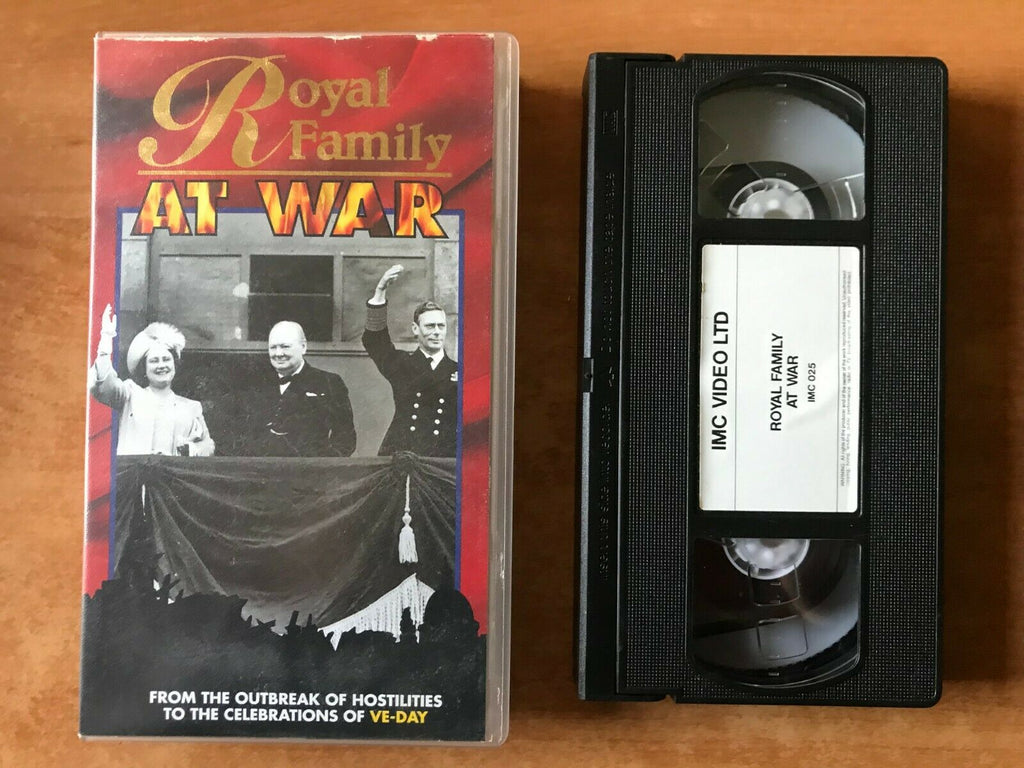 Royal Family At War [Documentary]: War World 2 - Ve-Day - Peter Townsend - VHS