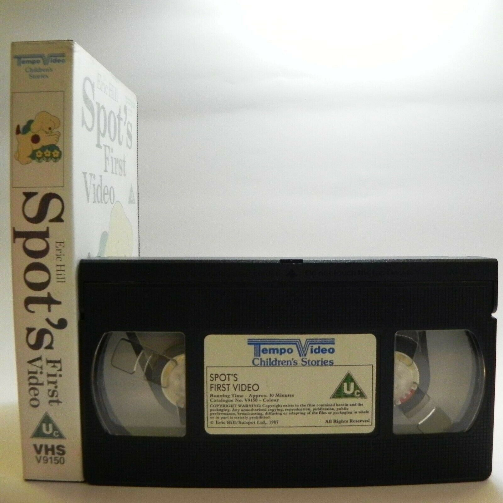 Spot's First Video: By E.Hill - Classic Animation - Fun Adventures - Kids - VHS