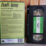 Dad's Army - Asleep In The Deep - Three Episodes - Arthur Lowe - Pal VHS