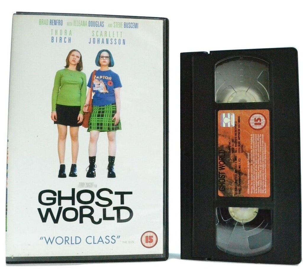 Ghost World: Based On D.Clowes Comic Book - Comedy - Scarlett Johansson - VHS