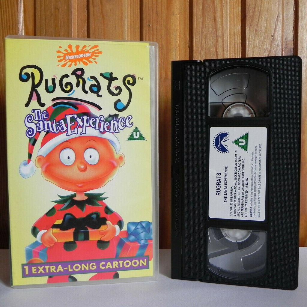 Rugrats: The Santa Experience - Nickelodeon - Animated - Adventure - Kids - VHS