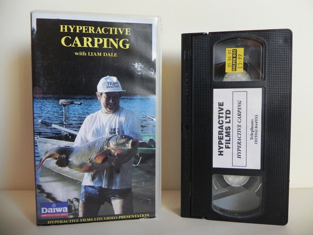 Hyperactive Carping - Fishing - Liam Dale - Programme For All Fishermen - VHS