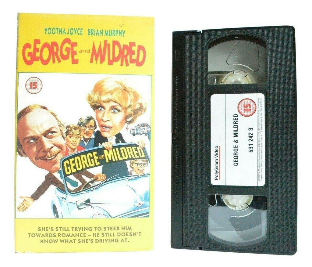 George And Mildred: Comedy Classic (1980) - Yootha Joyce/Brian Murphy - Pal VHS