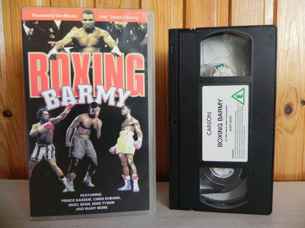 Boxing Barmy - Incredible Knock Outs - Mike Tyson - Prince Naseem - Pal VHS