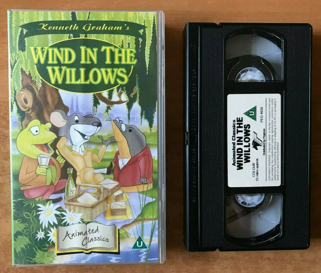 Wind In The Willows; [Kenneth Graham] Mr. Toad - Animated - Children's - Pal VHS