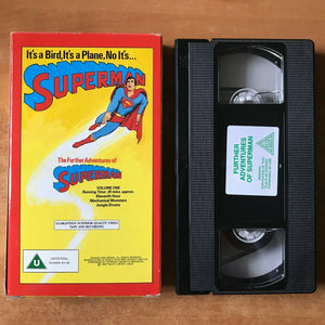 The Further Adventures Of Superman (Vol. 1); [Carton] Animated - Kids - Pal VHS