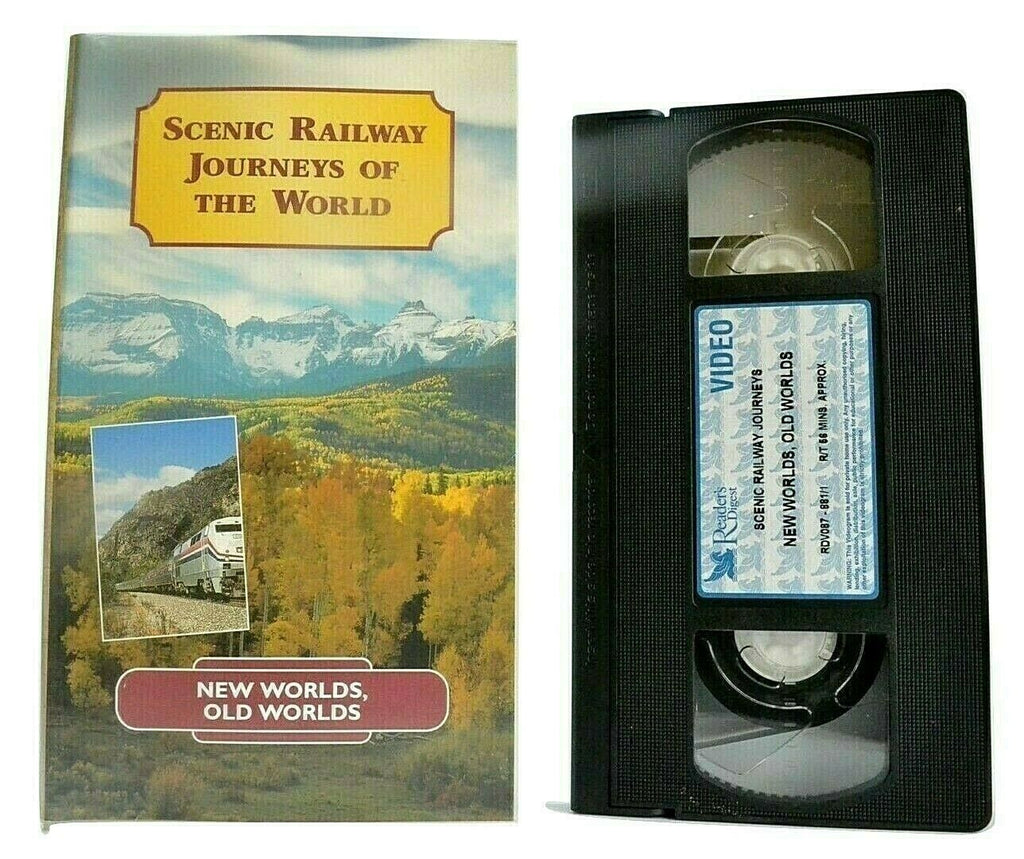 Scenic Railway Journeys Of The World: USA - Mexico - Ecuador - Peru - Pal VHS